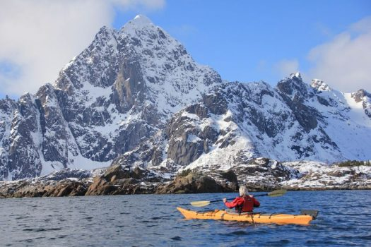 kayaking-lofoten