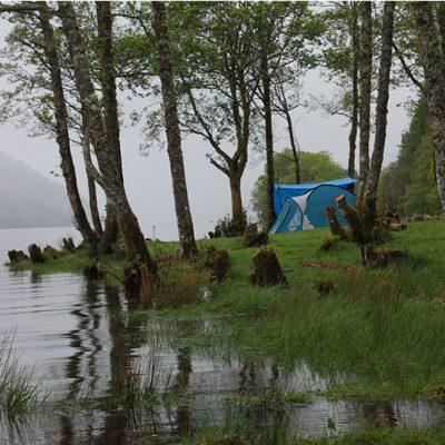camping-loch